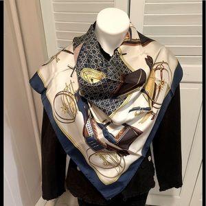 Hermès scarf.